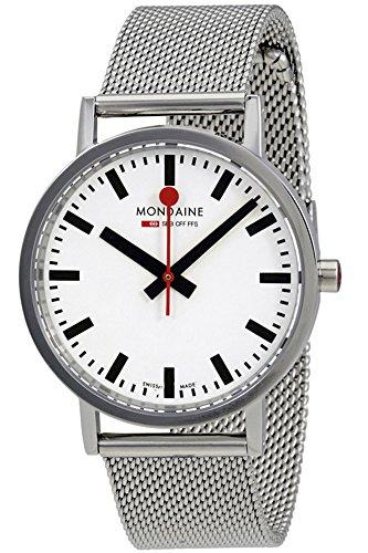 Mondaine Classic Unisexe Montre-bracelet à quartz de 36mm A6603031411sbms