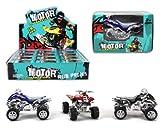 1 x Auto Quad, 1 aus 3 Farben - ca. 11cm, Motor Champions
