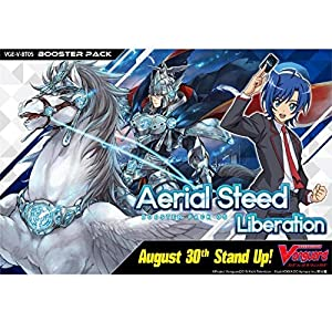 Cardfight Vanguard VGE-V-BT05-EN Aerial Steed Liberation Booster Display of 16 Packets, Multi
