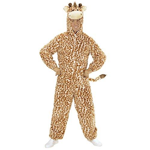 Plüsch Giraffe Kostüm - Widmann 97134 Erwachsenen Kostüm