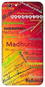 Madhunisha (pleasant night) Name & Sign Printed All over customize & Personalized!! Protective back cover for your Smart Phone : Asus Zenfone 2 Lasse ZE601KL