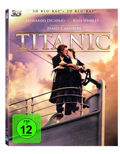 BD * TITANIC 3D (4-BD)S [Blu-ray] [Import anglais]