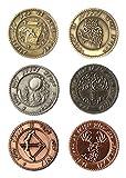 LARP-Münzen Elfen - Währung Spielgeld von Battle-Merchant Ausführung ohne Beutel