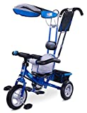 Toyz Derby, 3in1 Multifunktionell Dreirad, blau