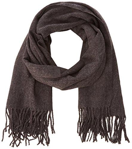 VERO MODA Damen VMSOLID Long Scarf NOOS Schal, Grau (Dark Grey Melange Detail:Solid), One size