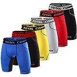 TCA - Short de compression SuperThermal - sous-vêtement thermique - homme/garçon - Black Stealth/Space Grey - 12 years