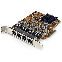 Startech.com ST10000SPEXI - Startech.com ST10000SPEXI Scheda di Rete RJ 45 Ethernet PCI Express ad 1 Porta da 10GBase, Adattatore PCIe NIC Gigabit Ethernet, ()
