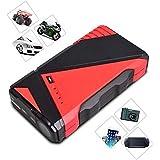 Nexgadget 12.000mAh Car Jump Starter, Starter de Démarrage, Kit Trousse d'Urgence d'une Batterie Portable Multifonctionnelle pour l'Aide au Démarrage de la Voiture, Portable avec LED (Courant de crête 400A)