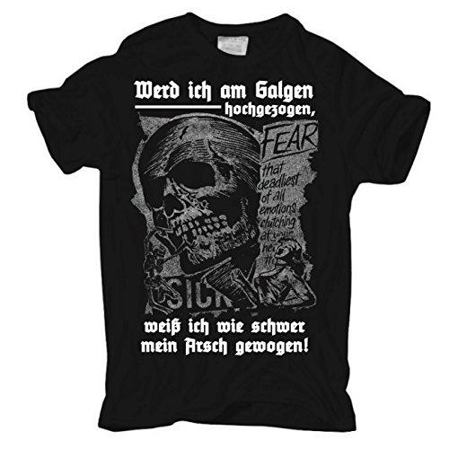 Life Is Pain -  T-shirt - Abbigliamento - Maniche a 3/4 - Uomo Körperbetont schwarz