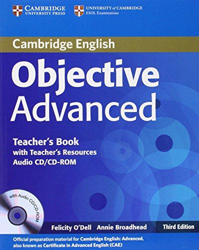Objective CAE 3rd  Teacher's Book with Teacher's Resources Audio CD/CD-ROM