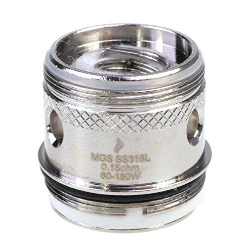 Riccardo MGS SS316L Coil Verdampferkopf, produced by Joyetech, 5 Stück, 0.15 Ohm, 1er Pack (1 x 5 Stück)