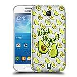Head Case Designs Was Zum Guac Alles Ueber Avocados Soft Gel Hülle für Samsung Galaxy S4 Mini I9190