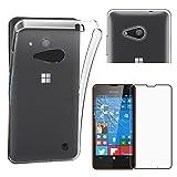 ebestStar - Coque Microsoft Lumia 550 Etui Housse Silicone Gel Anti-Choc Ultra Fine...