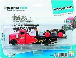 WDK Partner-Camión Transporte Auto Metal, 15211