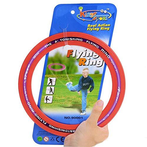 Motto.h Ring, für Lenkrad, klassisch, sicher und umweltfreundlich, für Flying Frisbee Pets Lenkradscheibe, Ring, ungiftig, Fitness, für Hunde und Kinder -