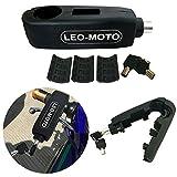 FD-MOTO Bloqueo de Seguridad de Motocicleta del Manillar Bloqueo de Palanca de Freno de Agarre Negro
