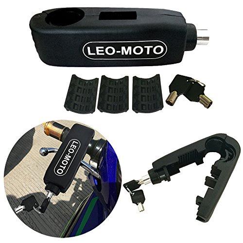 FD-MOTO Bloqueo de Seguridad de Motocicleta del Manillar Bloqueo de Palanca de...