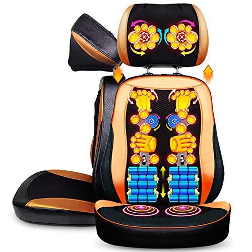 Masajeador Espalda Cuello Shiatsu 16 Nodos Rodantes
