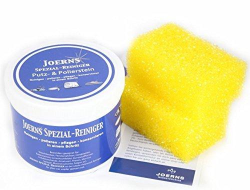 Joerns Spezial Reiniger - Putz und Polierstein Messeset 2 Kg - enthält 2 Dosen a 1Kg Putzstein (Schritt 2 Grill)
