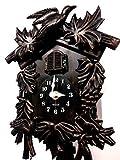WC2070-Walplus Orologio a cucù Orologio a cucù Black Forest, 36cmx20cmx11cm