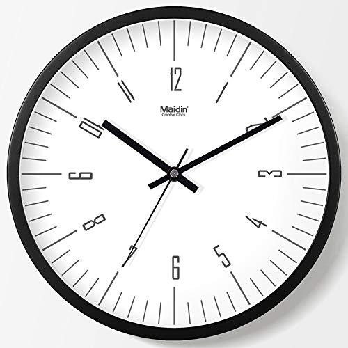 SUIBIANBA Reloj De Pared De Moda Sala De Estar Reloj De Cuarzo...