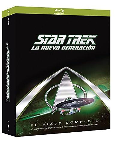 Star Trek: The Next Generation (STAR TREK: LA NUEVA GENERACION (PACKS TEMPORADAS 1-7), Importé d'Espagne, langues sur les détail