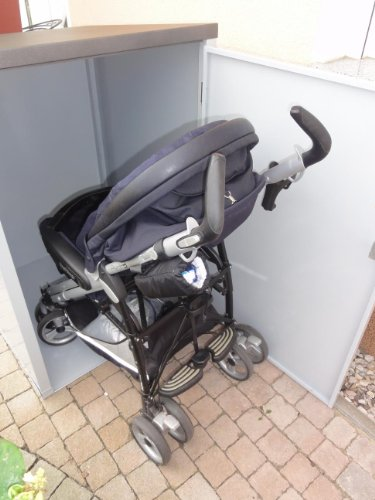 Kinderwagenbox Kinderwagengarage Kinderwagenunterstand
