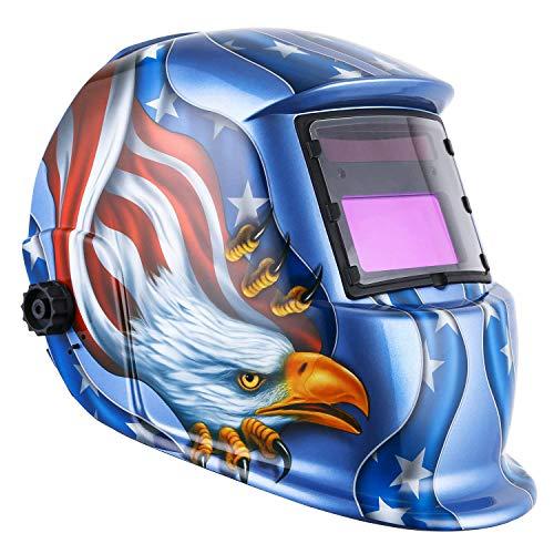 Preisvergleich Produktbild Schweißmaske Automatische Lichtschweißmaske Argon Lichtbogenschweißen Maske Schweißen Maske Schweißhelm