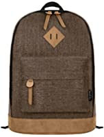 EcoCity Classical College School Laptop Backpack Rucksak Back Pack Bags