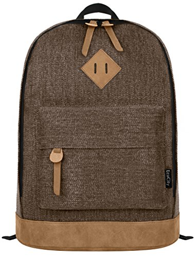 ecocity-classical-college-school-laptop-backpack-rucksak-back-pack-bags-bp0033c2-coffee
