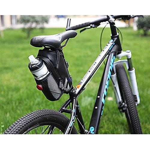 Bike Sitz Sattel Wedge Pack Tasche, yicol Mountain Road MTB Fahrrad Pack Aufbewahrung Paar Satteltasche mit für Rücklicht Repair Tools, Handy, Schlüssel und andere Dinge Dunkelblau