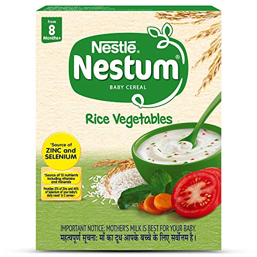 Nestle Nestum Infant Cereal (8 Months-12 Months) Rice Vegetable - 300 g