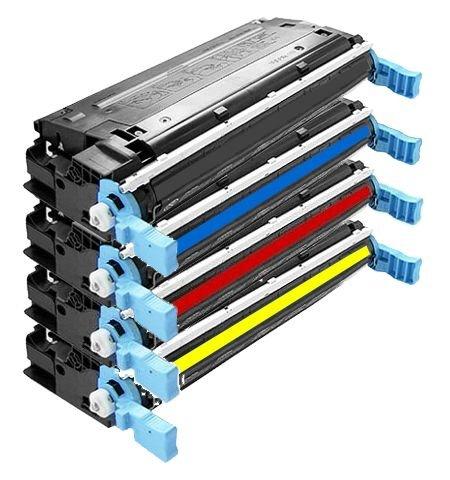 4700 Laser (4er Set Eurotone Laser Toner Cartridge remanufactured für HP Color Laserjet 4700 N DN DTN Plus - 4700N 4700DN 4700DTN - kompatibel ersetzt HP Q5950A Q5951A Q5952A Q5953A)