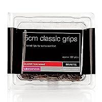 Salon Services Classic Hair Grips Brown 500 Pack 5cm