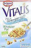 Dr. Oetker Vitalis Weniger Süß Knusper Pur, 1.5 kg