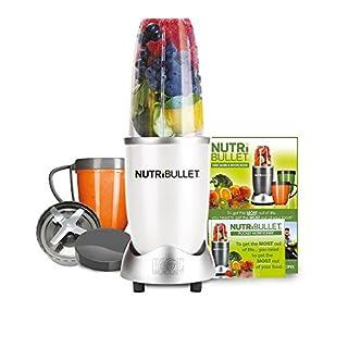 NutriBullet 600 Series Blender, 600 W, 8-Piece set, White