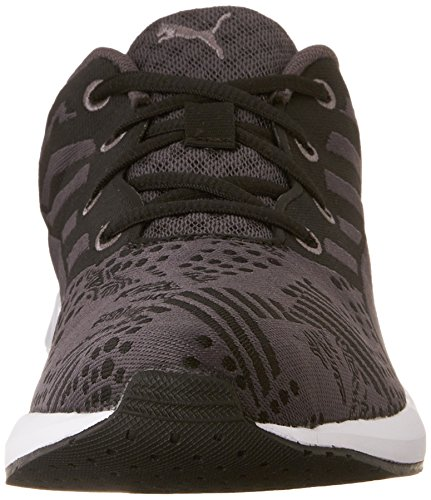 Puma Flare Woven Toile Baskets Black-periscope-White