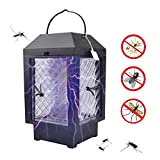 Womdee Mosquito Bug Zapper Light - Non-Toxic Solar LED Mosquito Bug Pest Trap