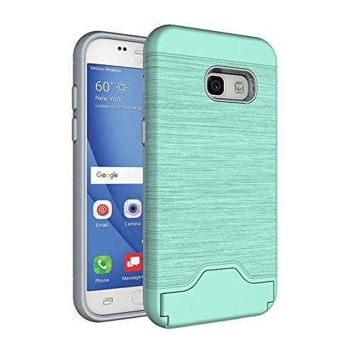 Casefirst Samsung Galaxy A3 2017 Case, Thin Slim Women Full Lens Protection Durable Protective Case Soft Case Back Cover for Samsung Galaxy A3 2017 - Mint Green -