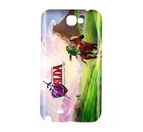 the-legend-of-zelda-ocarina-of-time-game-snap-on-plastic-case-cover-compatible-with-samsung-galaxy-n