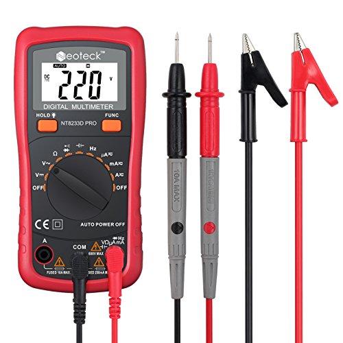 Multimetre capacimetre le classement des meilleurs de - Tester fil electrique avec multimetre ...