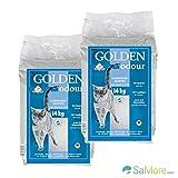 Golden grigio antiodore–lettiera–Granulato scent-free Canada–2x 14= 28kg