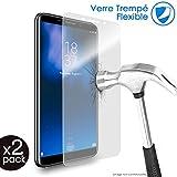 KARYLAX Protection d'écran Film Verre Nano Flexible Dureté 9H, Ultra Fin 0,2mm et 100% Transparent pour Smartphone Doogee X60L [Pack x2]