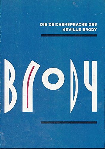 Die Zeichensprache des Neville Brody. Buch-Cover
