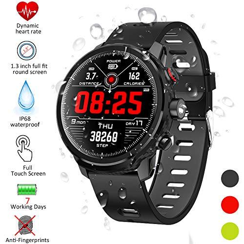 Smartwatch, Kivors Reloj Inteligente IP68