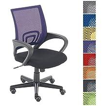 CLP Silla de escritorio GENIUS,mayor calidad al menor precio lila