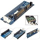 ELEGIANT 40-Pin IDE Female zu SATA 7 + 15Pin 22-Pin Male Adapter Konverter PATA zu SATA Karte