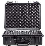 TEGO PRO 100740 Case WP Safe Box 3-33 x 28 x 13 cm Hartschalenkoffer Kunststoff Koffer Transportkoffer Koffercase
