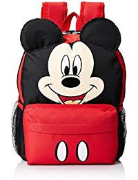 Small Backpack - Disney - Mickey Mouse Face/Ears New School Bag 628680-3 by Disney