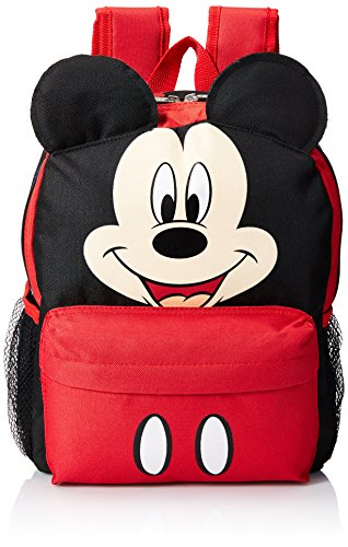 Disney Mickey Mouse Smiley Face And Ears Kids 12'' Backpack